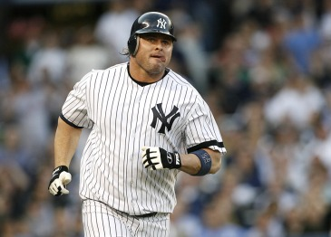 Jason Giambi when he was the full time DH with the New York Yankees