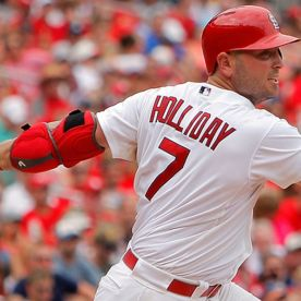 Matt Holiday was forced to take a 1 year deal with the New York Yankees to DH.