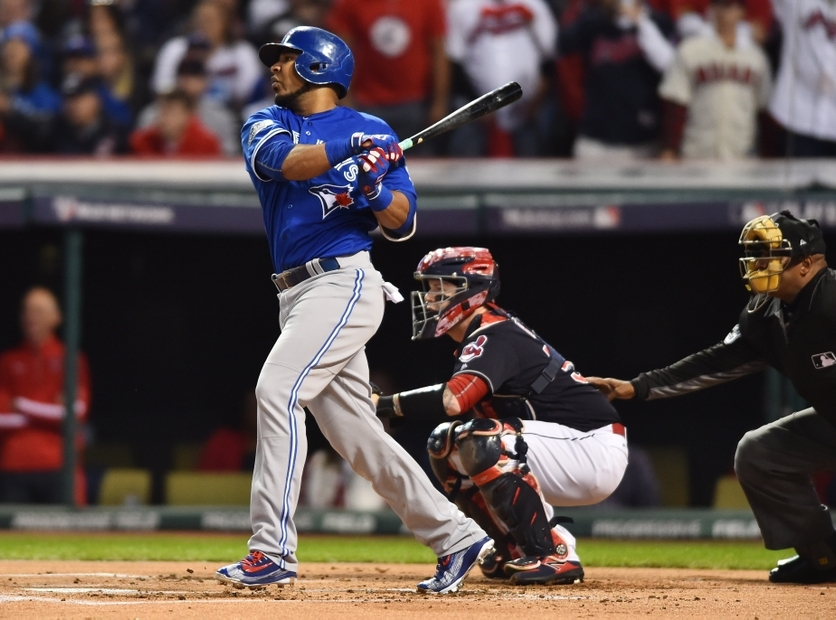 Edwin Encarnacion singed a 3 year contract with the Indians for $20 million less than anticipated.