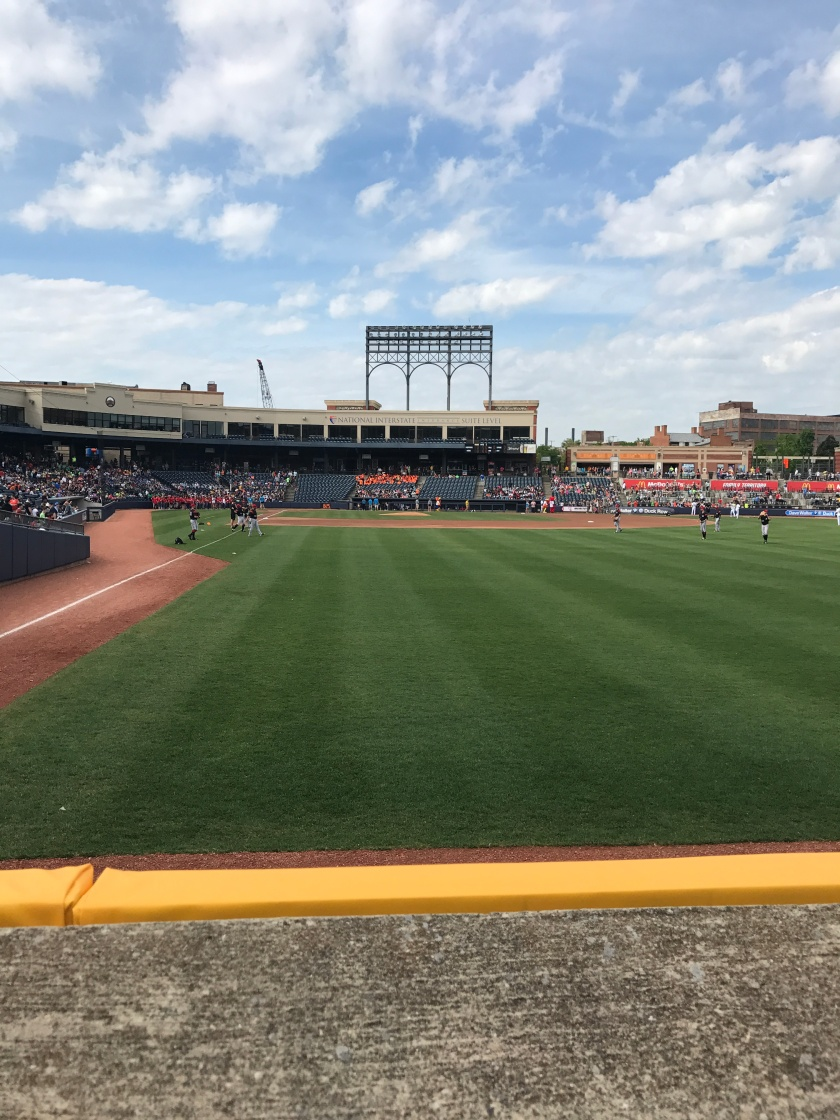 Canal Park Akron Standing Room Only