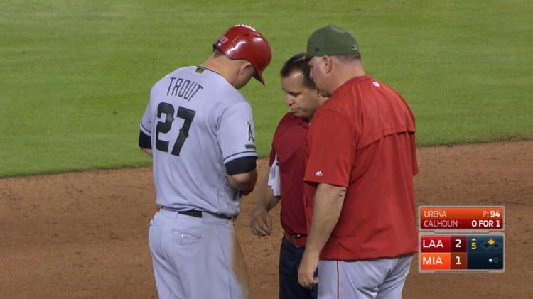 Mike Trout injury