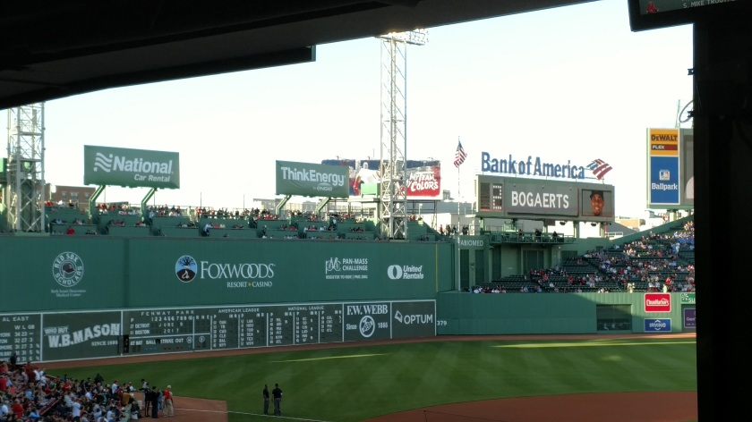 Fenway Park Boston Standing Room Only