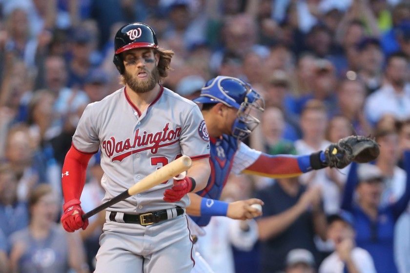 MLB: NLDS-Washington Nationals at Chicago Cubs