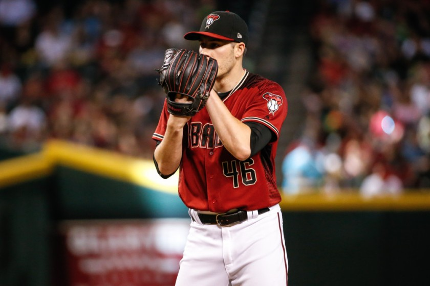 MLB: SEP 24 Marlins at Diamondbacks