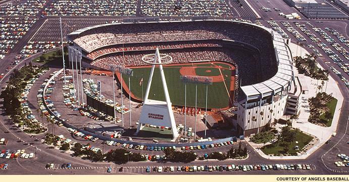 Anaheim Stadium 1960s