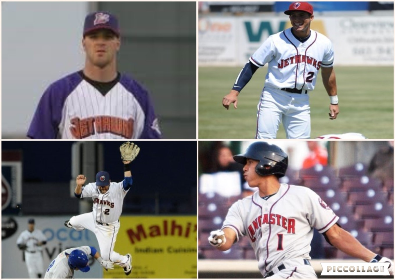 Baby Astros collage