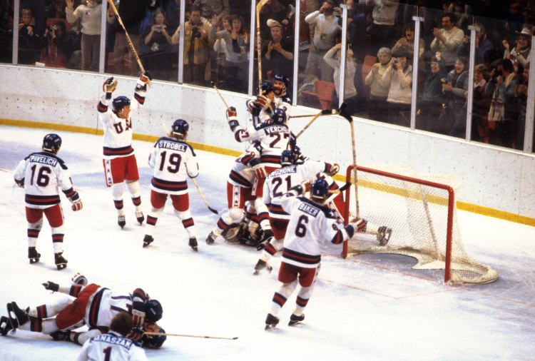 USA vs Soviet Union, 1980 Winter Olympics