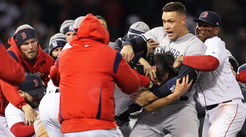 Yankees Red Sox Brawl